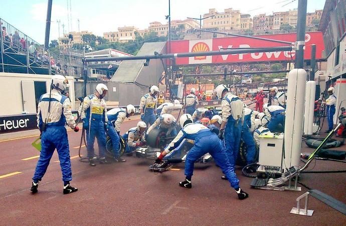 Felipe Nasr elogiou estratégia da Sauber em Mônaco (Foto: Divulgação)