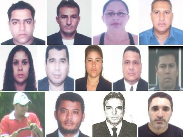 Suspeitos de participação em esquema estão foragidos (Foto: Polícia Civil/Divulgação)