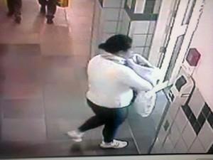 Bebê roubado em maternidade de Porto Alegre (Foto: Polícia Civil/Divulgação)