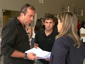 Empresário registrou boletim de ocorrência e diz que espera por justiça no caso da morte da filha em Franca (Foto: Márcio Meireles/EPTV)
