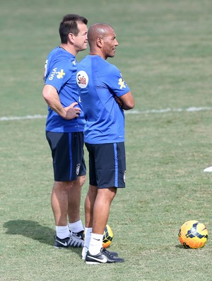 treino brasil - dunga (Foto: Bruno Domingos / Mowa Press)