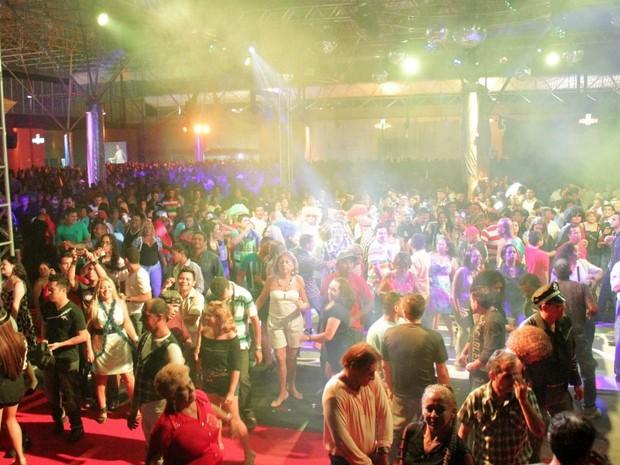 Galpão do Studio 5 Centro de Convenções recebeu grande público (Foto: Marcos Dantas/G1 AM)