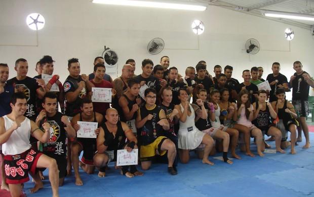 equipe suzano muay thai (Foto: Divulgação)