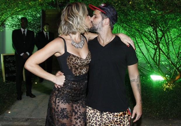 Giovanna Ewbank e Bruno Gagliasso (Foto: Thyago Andrade/Brazil News)