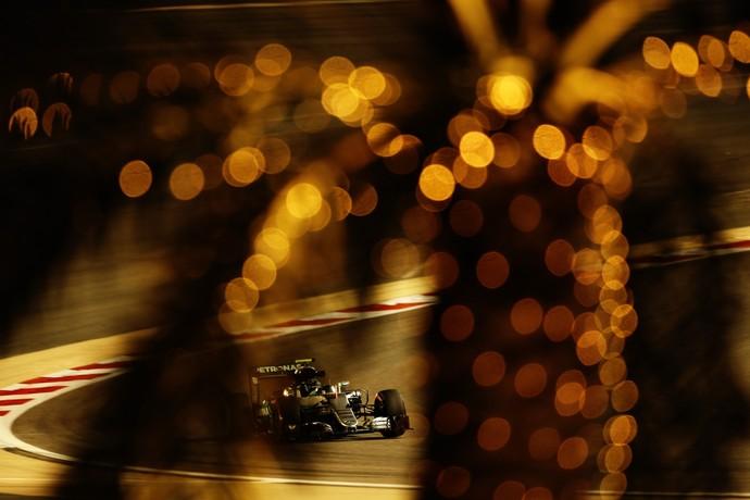 Nico Rosberg foi o mais rápido no 2º treino libre para o GP do Bahrein (Foto: Getty Images)