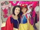 Alessandra Ambrósio posta fotos da festa de aniversário da filha