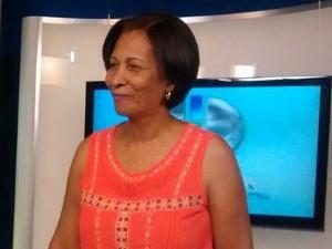 Francisca foi convidada à sede da Inter TV (Foto: Jucilene Magalhães)