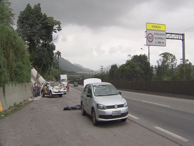 Estrangeiro foi morto após ser abordado por criminosos (Foto: Reprodução / TV Tribuna)