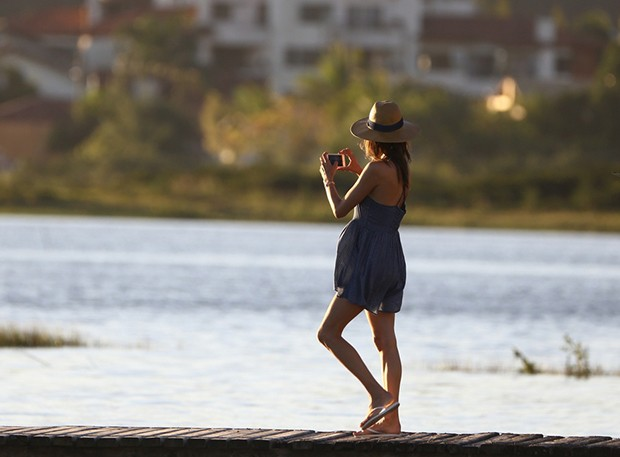 Alessandra Ambrosio (Foto: Wallace Barbosa/ Agnews)