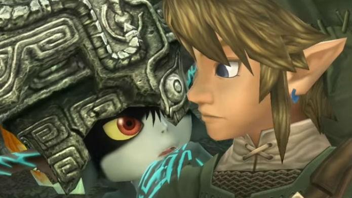 Midna e Link detonam em Legend of Zelda Twilight Princess HD (Foto: Reprodução/YouTube)