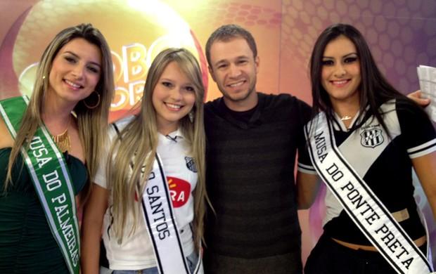 Musa do Brasileirão Globo Esporte (Foto: TV Globo)