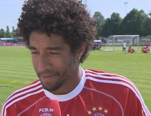 Dante se reapresenta ao Bayern de Munique (Foto: Divulgação / Bayern de Munique)