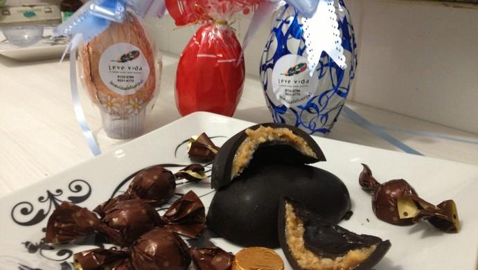 Chocolates Leve Vida (Foto: Ivanete Damasceno)