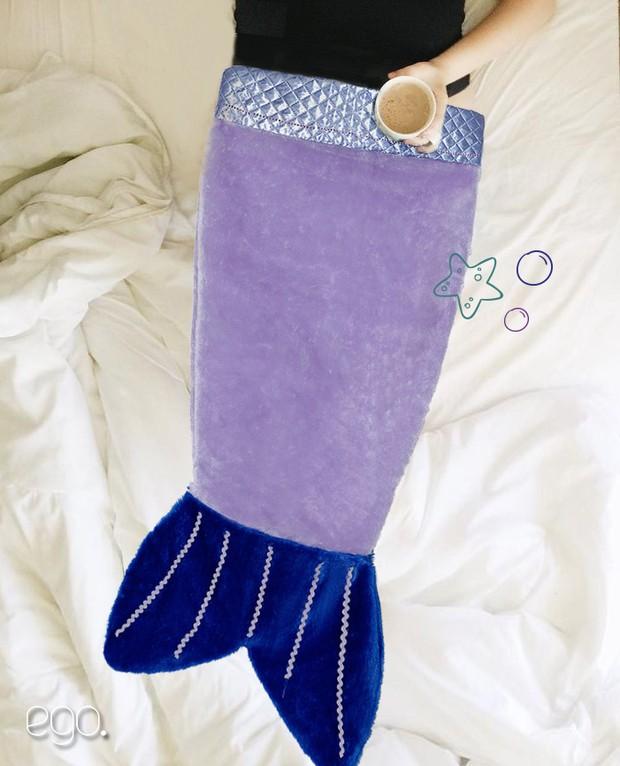 Fica a Dica - Cobertor de sereia para curtir o frio (Foto: Marcos Serra Lima/EGO)