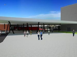 Centro de Eventos de Vitória (Foto: Arte/ Governo do ES)