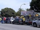 Funcionários dos Correios são detidos durante manifestação em BH