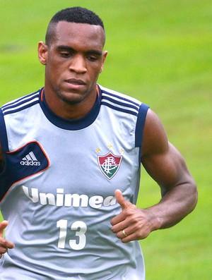 Digão treino Fluminense (Foto: Moyses Ferman / Photocamera)