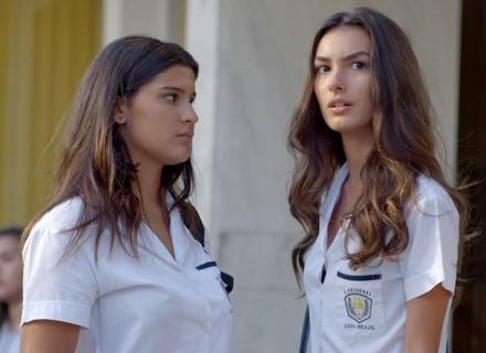 Luciana ignora provocações de Rodrigo e Flávia