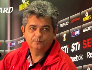 Ney Franco São Paulo coletiva (Foto: Rodrigo Faber / Globoesporte.com)