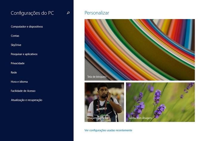 Acesse as configurações (Foto: Thiago Barros/Reprodução)