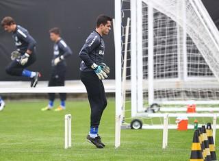 Marcelo Grohe grêmio treino (Foto: Lucas Uebel/Grêmio FBPA)