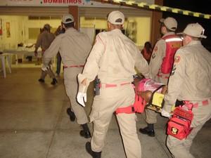 Corpo de Bombeiros do RN (Foto: Cristhiano Couceiro)