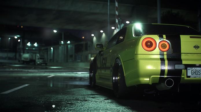 O novo Need for Speed traz também mais modelos da Nissan, como o Nissan Skyline GT-R V-Spec 1999 (Foto: Divulgação/Electronic Arts)