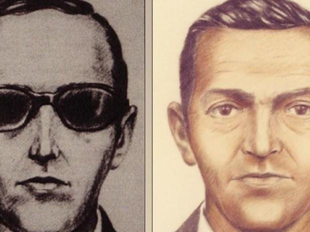 FBI fez essa ilustração do ladrão na tentativa de capturá-lo, sem sucesso (Foto: FBI / BBC)