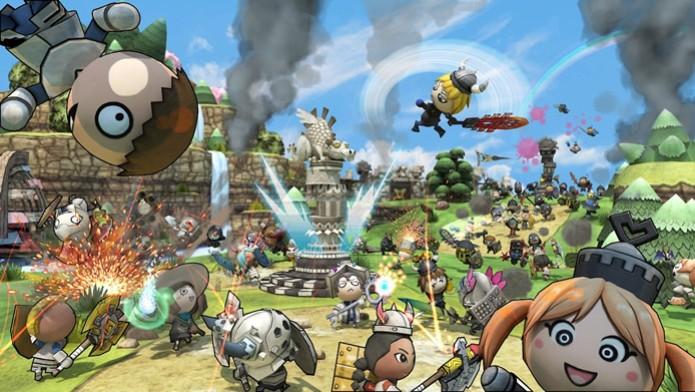Com vários níveis de personalização, Happy Wars é um MOBA engraçado e caricato (Foto: Divulgação/Toylogic inc.) (Foto: Com vários níveis de personalização, Happy Wars é um MOBA engraçado e caricato (Foto: Divulgação/Toylogic inc.))
