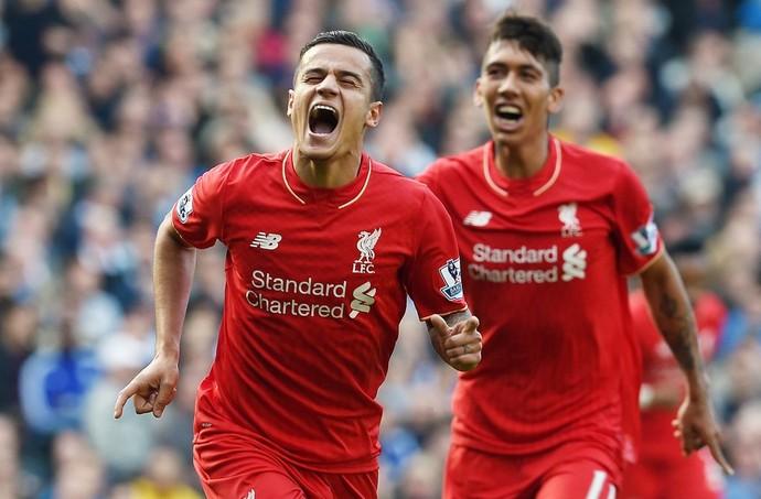 Liverpool - Phillipe Coutinho - Firmino (Foto: Reprodução/Twitter)