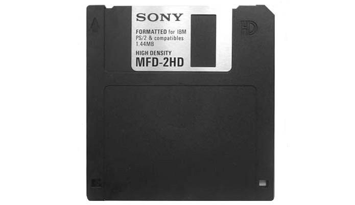 disquete (Foto: Divulgação/Sony)