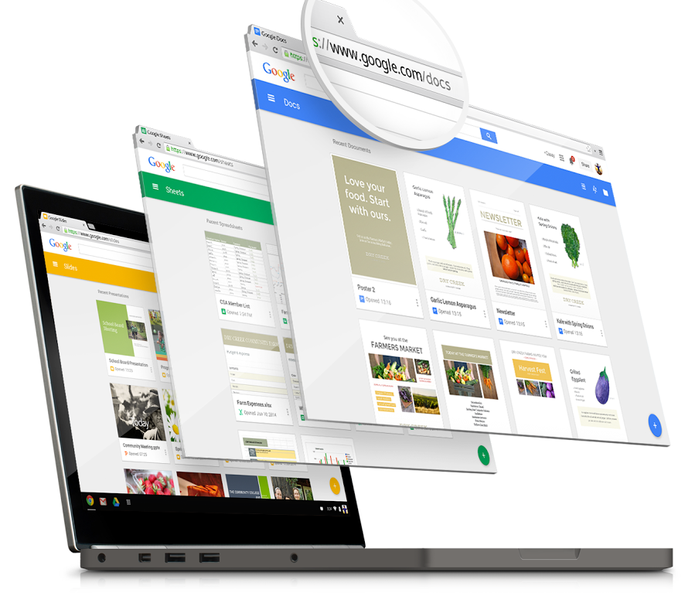 Google: /docs, /sheets e /slides, ficou mais fácil acessar o Drive na web (Foto: Divulgação/Google)