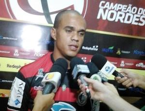 Íttalo Anderson, zagueiro do Campinense (Foto: Ascom / Campinense)
