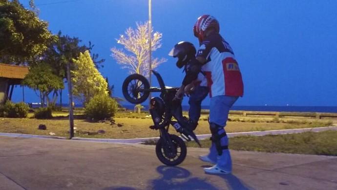 Moto; Amapá (Foto: Reprodução/Facebook)