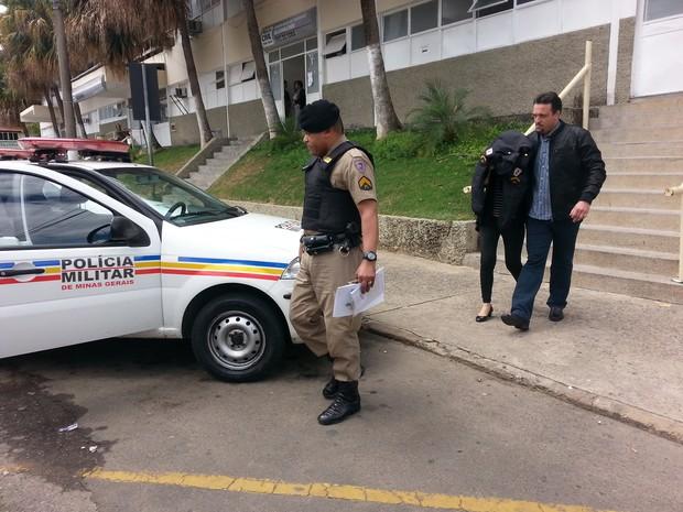 Prisão eleição Juiz de Fora (Foto: Nathalie Guimarães/G1)