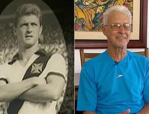 Oldair, ex-jogador do Vasco, autor de um dos gols na vitória por 2 a 0 sobre o Botafogo na final da Taça Guanabara de 1965 (Foto: Montagem SporTV)