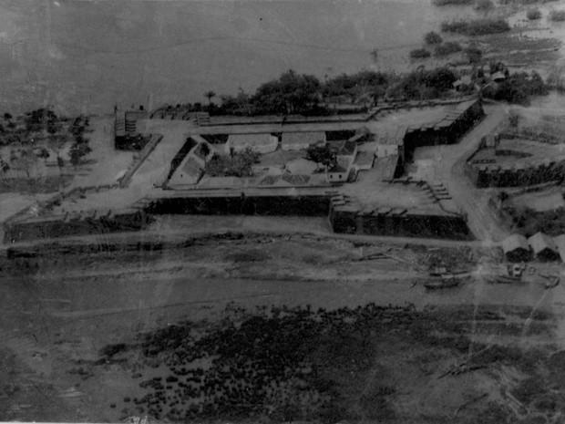 Fortaleza de São José de Macapá foi inaugurada em 1782 (Foto: Arquivo/IBGE)