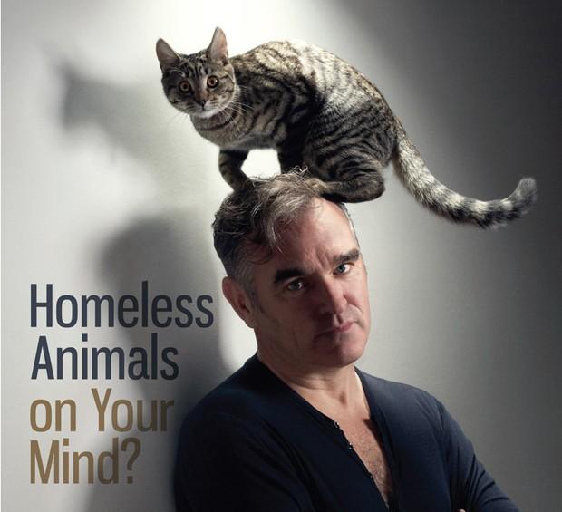 Morrissey em anúncio da organização de defesa dos animais PETA  (Foto: Reprodução)