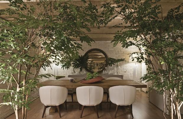 Décor do dia: sala de jantar selvagem (Foto: divulgação)