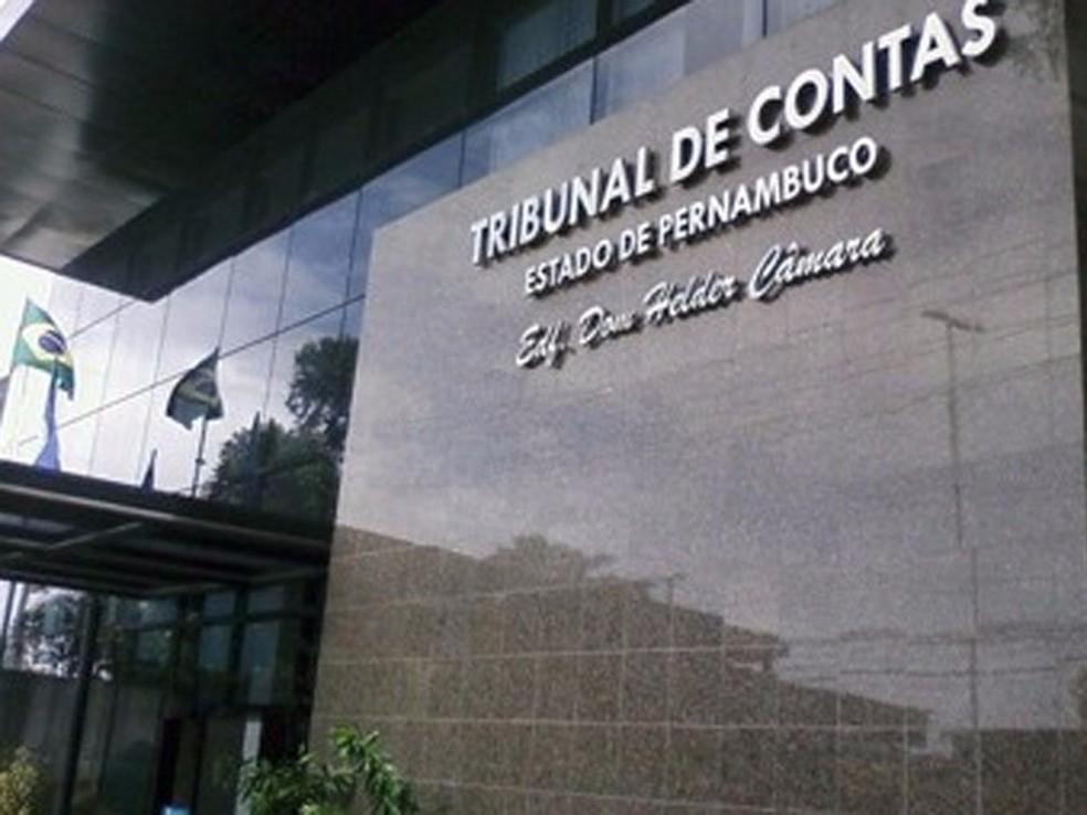 Tribunal de Contas de Pernambuco, no Recife (Foto: Ascom TCE-PE)