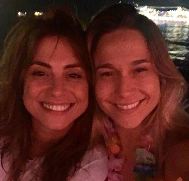 Fernanda Gentil e namorada (Foto: Reprodução/Instagram)