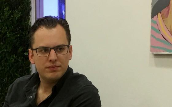 Mike Krieger, fundador do Instagram, em passagem por São Paulo (Foto: Época)