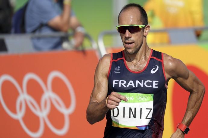 Yohann Diniz favorito para vencer a prova dos 50km da marcha atlética (Foto: REUTERS/Damir Sagolj)
