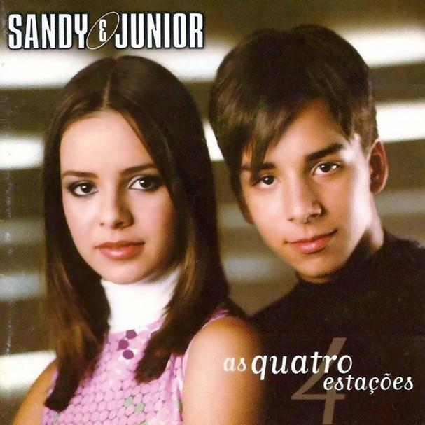 Sandy & Junior, álbum As Quatro Estações, de 1999 (Foto: Reprodução)