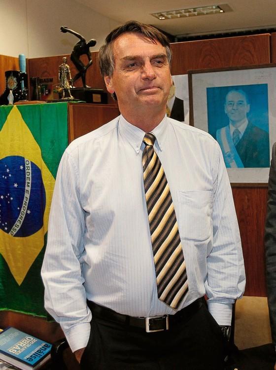 Jair Bolsonaro deputado federal (Foto:  Alan Marques/Folhapress)