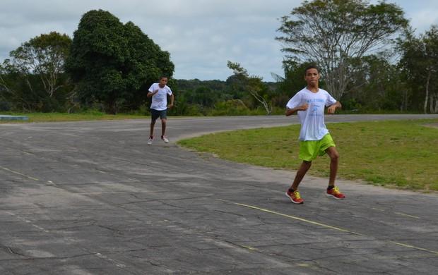 Fase estadual dos Jogos Paralímpicos do Acre é disputada em Cruzeiro do Sul (Foto: Francisco Rocha/G1)