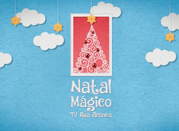 Natal Mágico TV Asa Branca (Foto: TV Asa Branca)