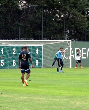 Alberto Valentim interino Palmeiras (Foto: Marcelo Hazan)