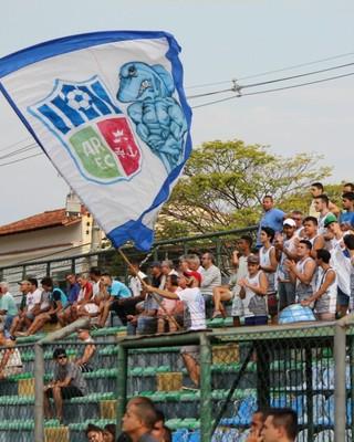 Torcida do Angra dos Reis fez a festa no Jair Toscano (Foto: Divulgação/Angra dos Reis EC)