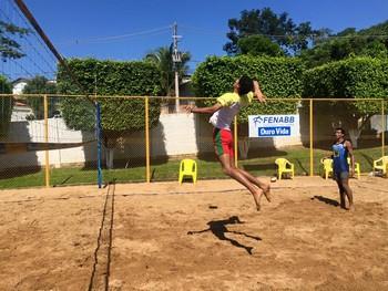 treino vôlei de areia sub-21 aabb-ac (Foto: Carlos Leopoldo/Arquivo pessoal)